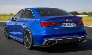 why haven t they built this yet audi rs3 sedan rendered