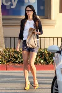 Jordana brewster leggy in shorts out in malibu may 2015