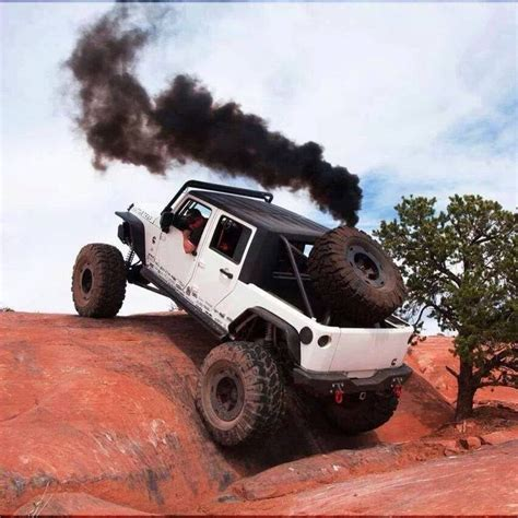 rattletrap jeep rollin coal jeep fine photo