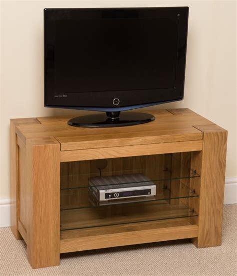 small tv unit low oak cabinet buy online living buy kuba chunky solid oak small tv cabinet unit from our