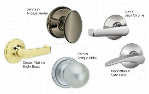 Different Types Of Door Knobs by Design Megillah Updating Doors