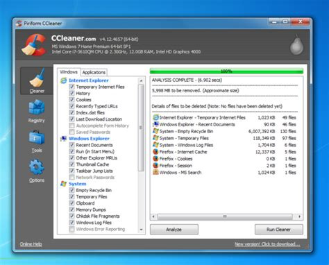 Ccleaner Temporary Files | how to upgrade an old pc no brainer improvements anyone