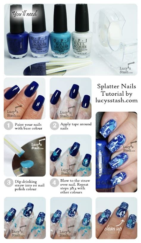 tutorial nail art opi 17 best images about nail art step by step on pinterest