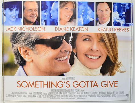 something s gotta give something s gotta give original cinema movie poster from