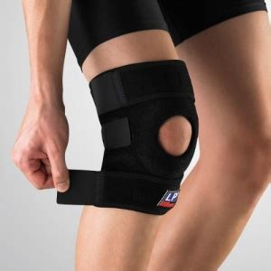 Lp Support Knee Open Patella Blue Uk M Lp 708 Promo lp knee support with open patella sports