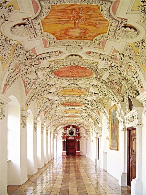 beautiful baroque architecture inside rottenbuch abbey 17 best images about abbeys monasteries on pinterest