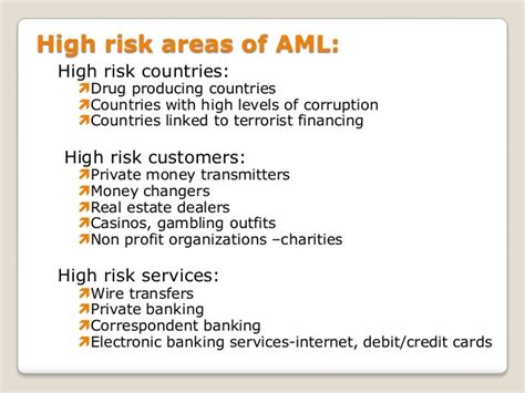 Mba Concentration Anti Money Laundering by Anti Money Laundering