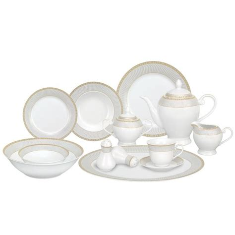lorren home trends porcelain dinnerware set alina gd