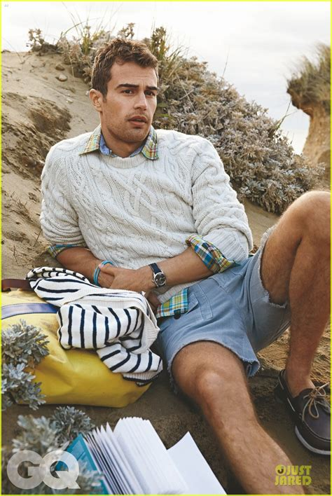 I Just This Magazine Neet The Next Issue Is In March 2007 by Theo Is A Preppy Hottie For Gq Magazine S March