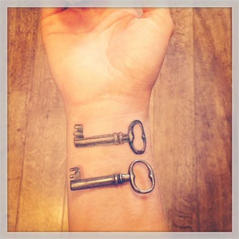 simple key tattoo simple skeleton key tattoo from a box found in my