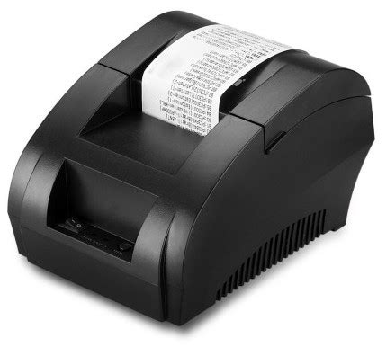 Taffware Pos Thermal Printer 57 5mm Zj 5890k Murah zj 5890k low noise mini pos receipt thermal printer price bangladesh bdstall