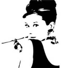 Audrey Hepburn Wall Stickers silhouette portrait reviews online shopping silhouette