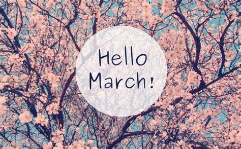 march beautiful image