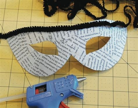 How To Make A Masquerade Mask Out Of Paper - recycled masquerade mask 183 how to make a mask 183 decoupage
