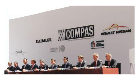 comenzo edificacion de planta compasdaimler alianza renault nissan revista auto motores informa