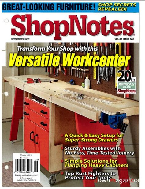 Shopnotes Issue 123 May June 2012 187 Download Pdf