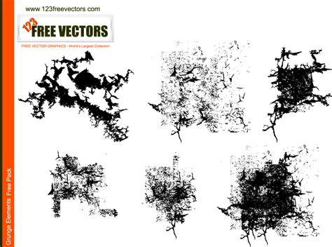 grunge design elements vector free vector grunge elements by 123freevectors on deviantart