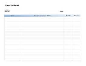 sign sheet template word best photos of sign in sheet free templates for word