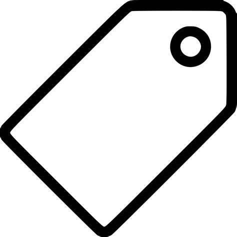 price tag vector svg png icon