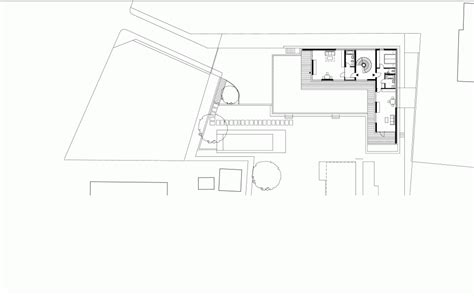 House Plan Details by A Better Version Of An L Shaped Villa Hovering Above The