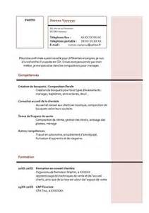 Exemple De Lettre De Motivation Fleuriste Exemple De Cv Fleuriste Exemples De Cv