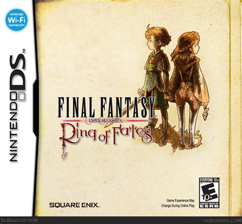 Ring Of Fates Nds Nintendo chronicles ring of fates nintendo ds box cover by