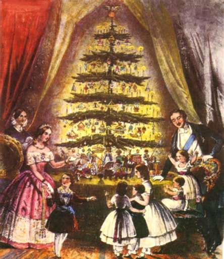who introfuced christmas trees to britisn myth 74 revisited the tree tradition was brought to america by the german