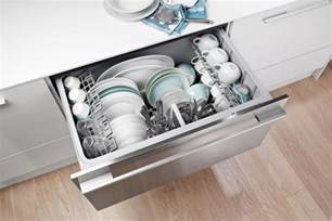 Drawer Dishwasher Review All About Drawer Dishwashers Kitchn