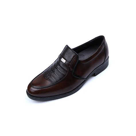 comfortable mens loafers mens real leather comfortable cusion insole brown winkle