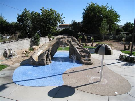 splash pads for backyard splash pads for the home and backyard rain deck