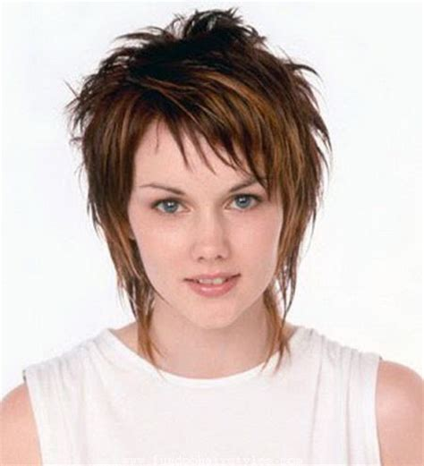 how cut womens hair short shag short shaggy haircuts for women