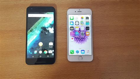 V Iphone 6 Nexus 5x Vs Iphone 6 Comparison