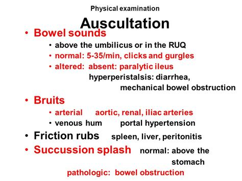 Physical Examination Of Stool by Propedeutics Gastroenterology Ppt