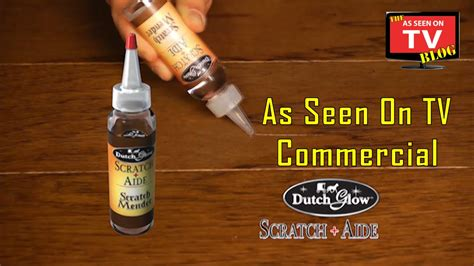 wood table scratch repair glow scratch aide as seen on tv commercial buy