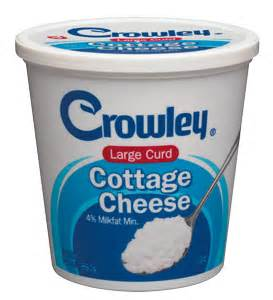 Cottage Cheese Large Curd by Crowley Foods 174 Large Curd Cottage Cheese