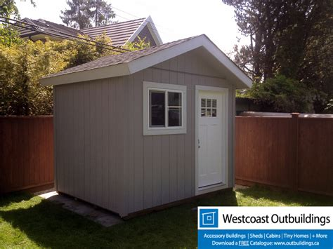 Shed Bc by 8 X 10 Craftsman Garden Shed Richmond Bc Canada