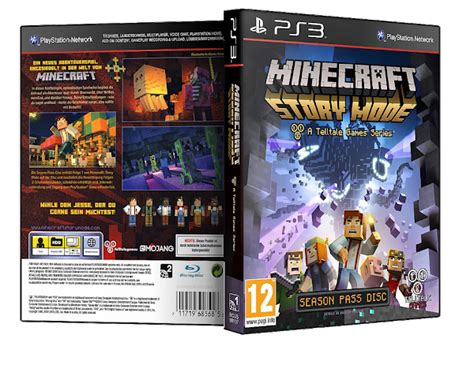 ps3 themes minecraft story mode apps and software capa minecraft story mode ps3