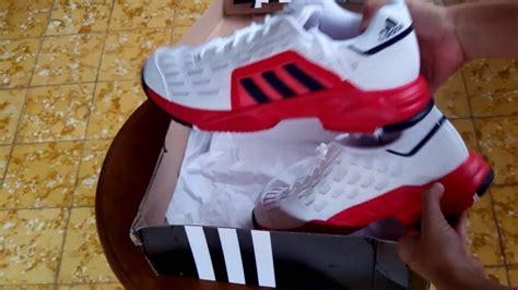 Sepatu Adidas Barricade sepatu tenis adidas barricade court 2 white aq2285 unboxing