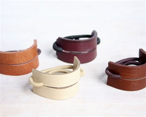 how to make a leather ponytail holder ehow leather hair band ponytail wrap ponytail holder hair tie