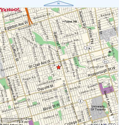 cottage   city toronto location map toronto