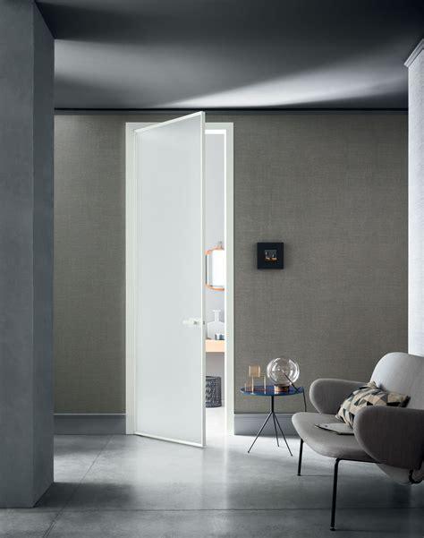 Porta Interna Moderna by Porta Interna Moderna Con Stipite In Alluminio Lualdi Spa