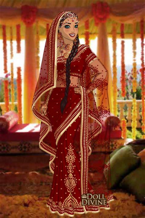 sari maker design games doll divine bride me by moonprincess22 on deviantart