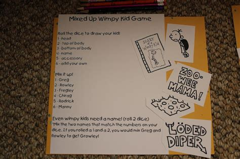 printable diary of a wimpy kid birthday card monday madness wimpy kid party