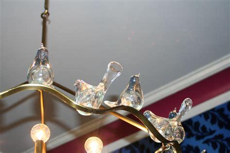 Glass Bird Chandelier Blairsden Mansion In Peapack Nj Bird Chandeliers