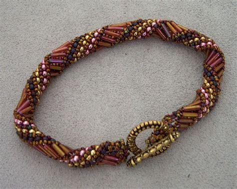 bead weaving patterns 105 best bugle canutillos aretes y bracelet images on