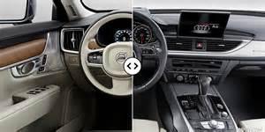 Audi A6 Interior Volvo S90 Vs Audi A6