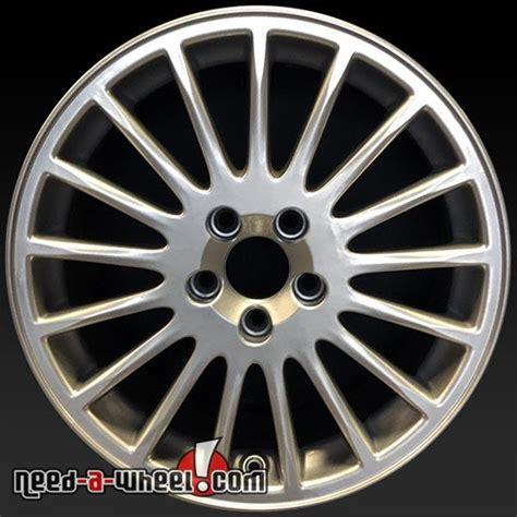oem volvo wheels 17 quot volvo 70 series wheels oem 2001 2007 hypersilver rims
