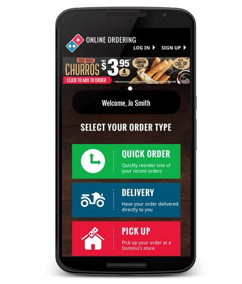 Domino Pizza App | domino s food delivery app free android pizza app