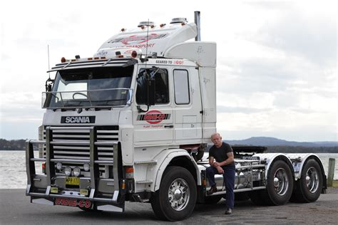 scania truck peter royter and his truck retire gracefully scania group