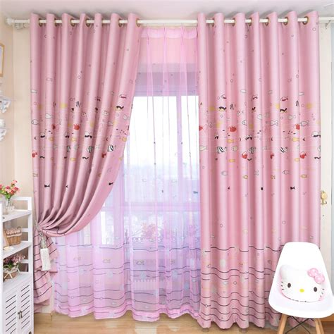heart curtains for kids kids pink curtains with fish patterns can decorate the kid